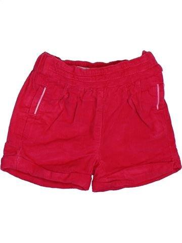 Short-Bermudas niña OKAIDI rojo 3 meses invierno #1508758_1