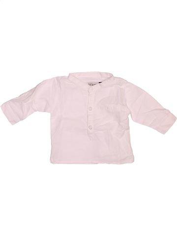 Chemise manches longues garçon JEAN BOURGET rose 3 mois hiver #1508927_1