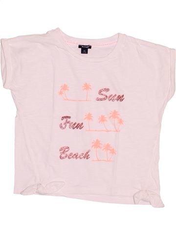 Camiseta de manga corta niña KIABI blanco 6 años verano #1509223_1