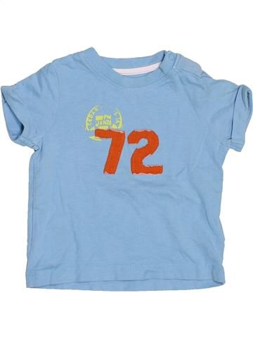 Camiseta de manga corta niño VERTBAUDET azul 6 meses verano #1509357_1