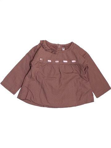 Chemise manches longues garçon TAPE À L'OEIL violet 6 mois hiver #1509623_1