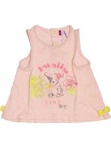 T-shirt sans manches fille ORCHESTRA beige 12 mois été #1509625_1