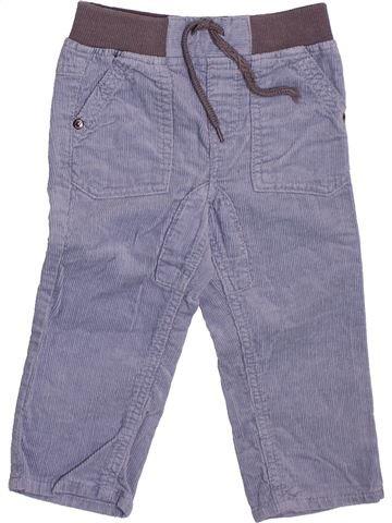 Pantalon garçon TAPE À L'OEIL bleu 6 mois hiver #1510074_1