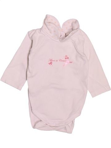 T-shirt manches longues fille ORCHESTRA rose naissance hiver #1510141_1