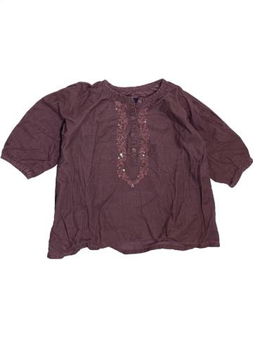 Blusa de manga larga niña SERGENT MAJOR violeta 9 meses invierno #1510452_1