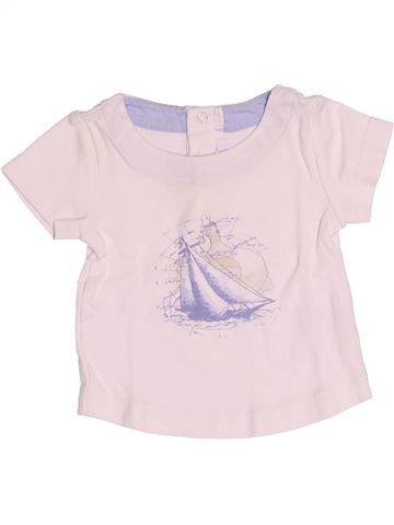 T-shirt manches courtes garçon JACADI rose 6 mois été #1510658_1