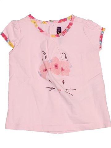 T-shirt manches courtes fille SERGENT MAJOR rose 9 mois été #1510689_1