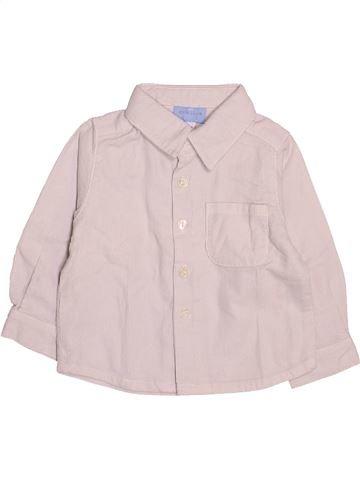 Chemise manches longues garçon CYRILLUS violet 6 mois hiver #1510721_1