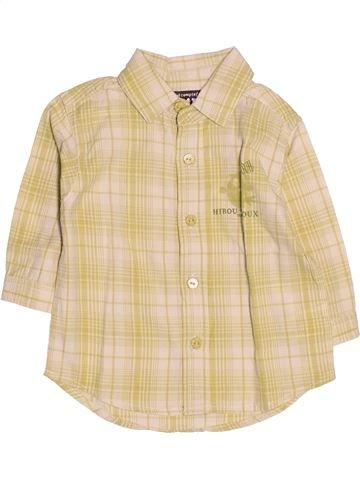 Camisa de manga larga niño TOUT COMPTE FAIT beige 6 meses invierno #1510722_1