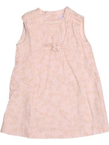 Vestido niña PETIT BATEAU rosa 6 meses verano #1510785_1