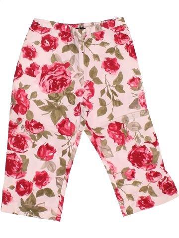Pantalon fille LILI GAUFRETTE rose 2 ans été #1510833_1