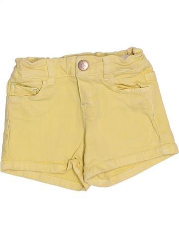 Short - Bermuda fille ZARA beige 9 mois été #1510889_1