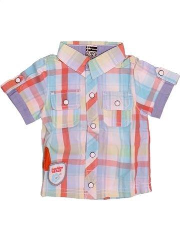 Chemise manches courtes garçon TAPE À L'OEIL blanc 6 mois été #1510954_1