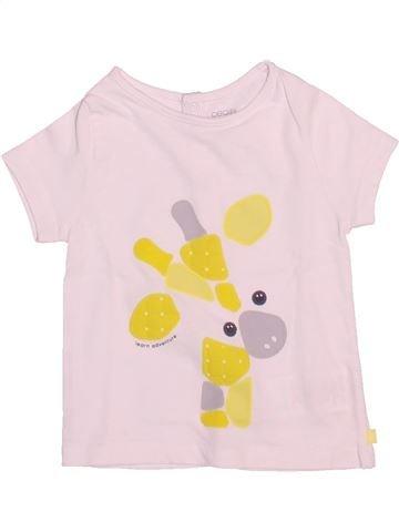 Camiseta de manga corta niño OBAIBI rosa 6 meses verano #1511907_1