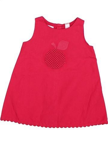 Vestido niña OBAIBI rojo 6 meses verano #1511919_1