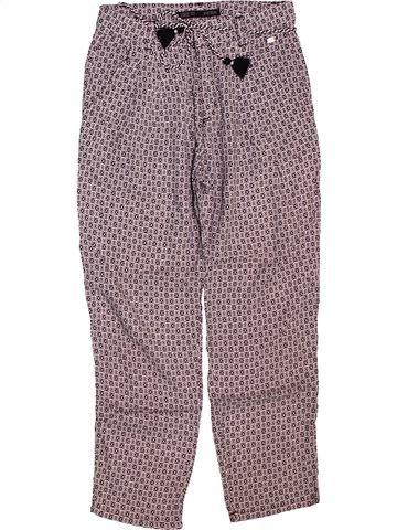 Pantalón niña IKKS violeta 8 años verano #1512172_1