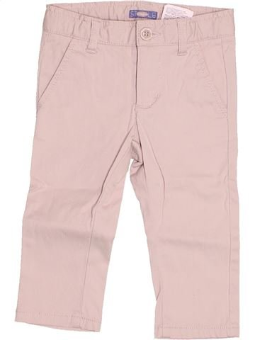 Pantalon garçon SARABANDA violet 12 mois été #1512625_1