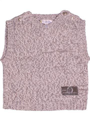 Pull garçon KIABI gris 3 mois hiver #1512749_1