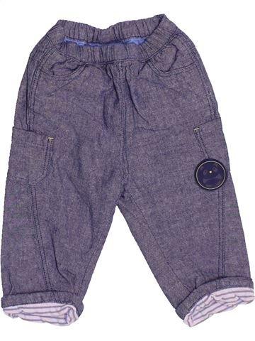 Jean garçon OKAIDI violet 3 mois hiver #1513403_1