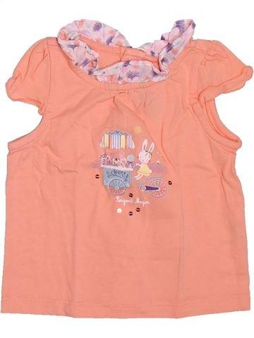 T-shirt sans manches fille SERGENT MAJOR rose 6 mois été #1514560_1