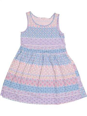 Robe fille H&M blanc 6 ans été #1514886_1