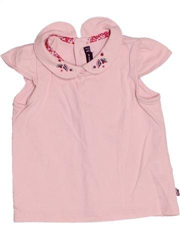 T-shirt manches courtes fille SERGENT MAJOR violet 6 mois été #1515255_1