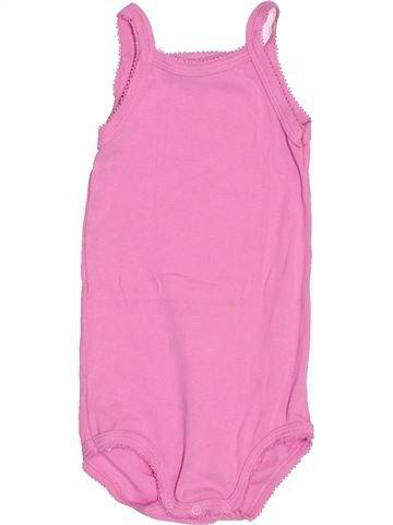 T-shirt sans manches fille PETIT BATEAU rose 18 mois été #1515949_1