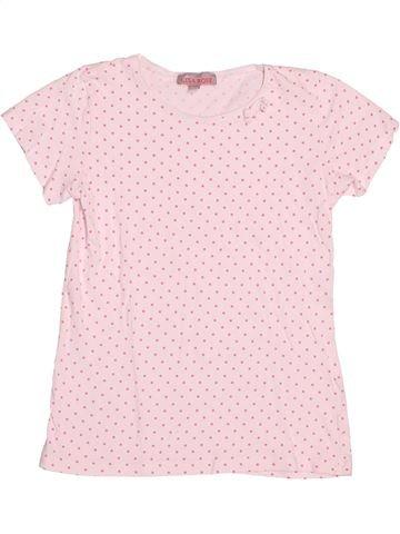 T-shirt manches courtes fille LISA ROSE rose 10 ans été #1516150_1