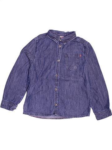 Chemise manches longues garçon TAPE À L'OEIL bleu 5 ans hiver #1516203_1