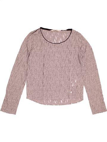T-shirt manches longues fille GARCIA JEANS beige 13 ans hiver #1516548_1