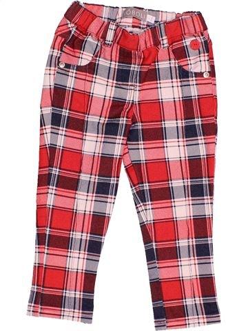 Pantalon fille BOBOLI marron 2 ans hiver #1517013_1