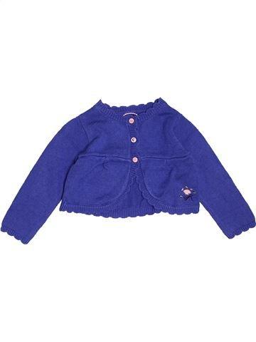 Gilet fille SERGENT MAJOR bleu 18 mois hiver #1517456_1