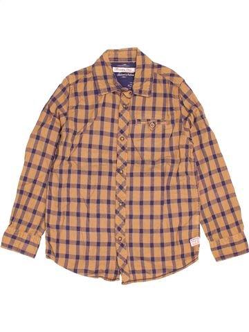Chemise manches longues garçon MC GREGOR marron 8 ans hiver #1517667_1