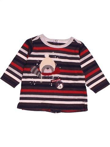 T-shirt manches longues garçon SERGENT MAJOR marron 6 mois hiver #1518321_1