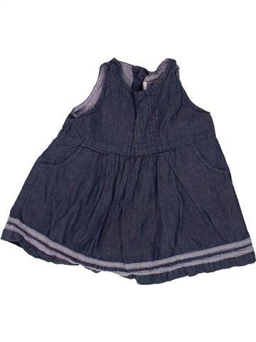 Robe fille JOJO MAMAN BÉBÉ bleu 3 mois été #1518827_1