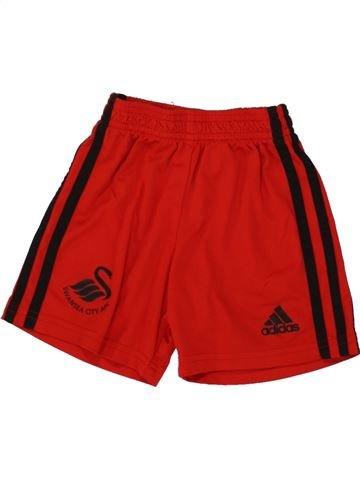 Pantalon corto deportivos niño ADIDAS rojo 2 años verano #1519158_1