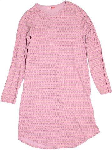 Chemise de nuit fille DPAM rose 12 ans hiver #1519376_1