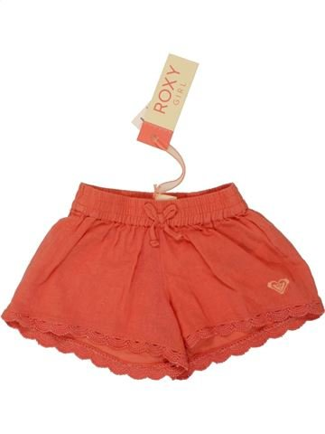 Short - Bermuda fille ROXY rouge 2 ans été #1519926_1