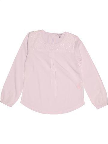 Blusa de manga larga niña 3 POMMES rosa 6 años invierno #1520181_1