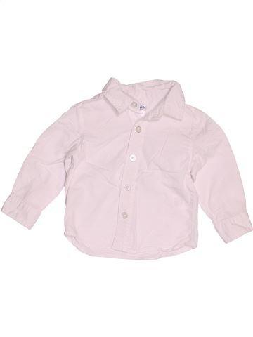 Camisa de manga larga niño LA REDOUTE CRÉATION rosa 12 meses invierno #1520197_1