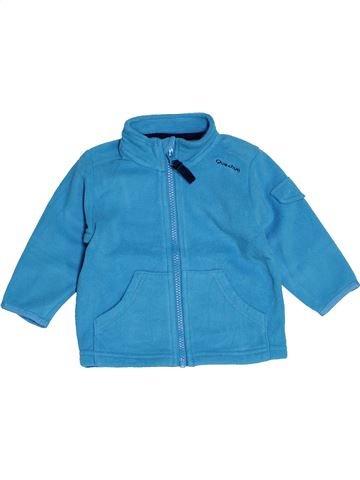 Gilet garçon QUECHUA bleu 12 mois hiver #1520203_1