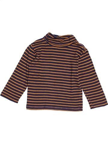 T-shirt col roulé garçon KIABI marron 4 ans hiver #1520415_1