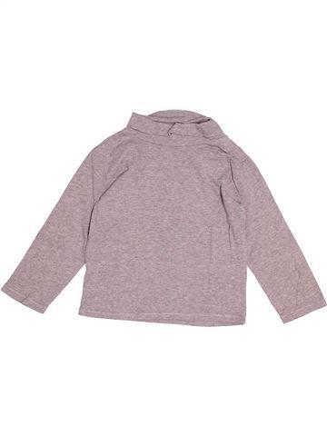 T-shirt col roulé garçon KIABI rose 4 ans hiver #1520421_1