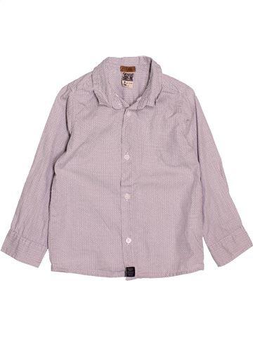 Chemise manches longues garçon TAPE À L'OEIL gris 3 ans hiver #1520871_1