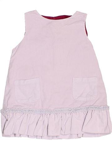 Vestido niña JACADI blanco 12 meses invierno #1520875_1