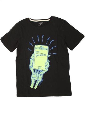 T-shirt manches courtes garçon QUIKSILVER noir 10 ans été #1520973_1