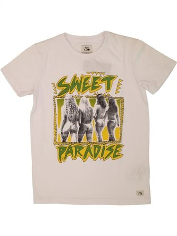 Camiseta de manga corta niño QUIKSILVER blanco 10 años verano #1520997_1