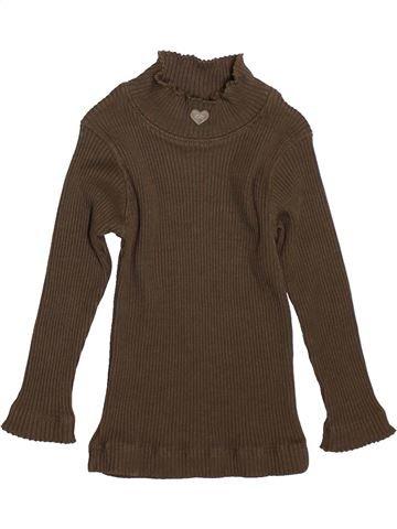 Camiseta de manga larga niña LILI GAUFRETTE marrón 2 años invierno #1521506_1