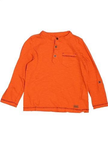 T-shirt manches longues garçon SERGENT MAJOR orange 5 ans hiver #1521581_1