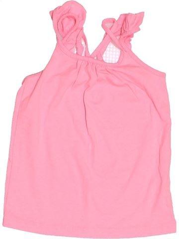 T-shirt sans manches fille TAPE À L'OEIL rose 3 ans été #1521797_1